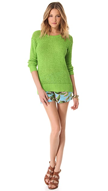 Twelfth St. by Cynthia Vincent U Back Pullover