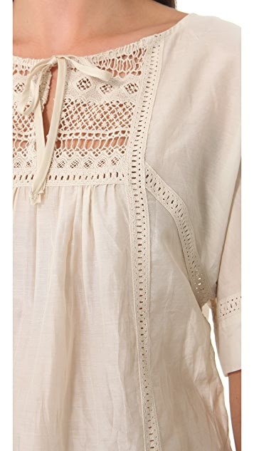 Twelfth St. by Cynthia Vincent Peasant Blouse