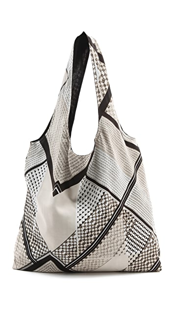 Twelfth St. by Cynthia Vincent Printed Geometric Shopper