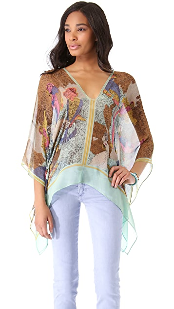 Twelfth St. by Cynthia Vincent Caftan Blouse