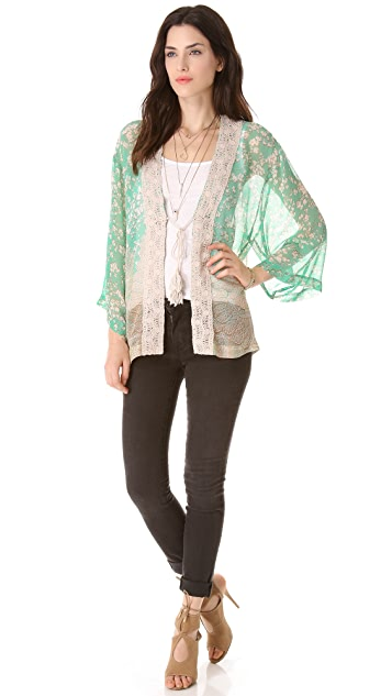 Twelfth St. by Cynthia Vincent Crochet Jacket