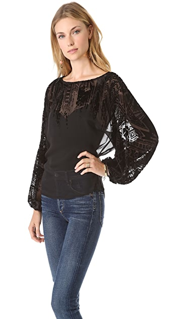 Twelfth St. by Cynthia Vincent Dolman Blouse