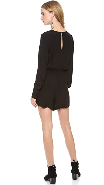 Twelfth St. by Cynthia Vincent Long Sleeve Romper
