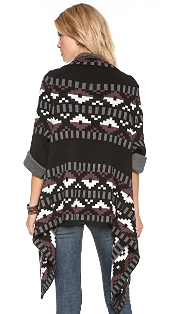 Twelfth St. by Cynthia Vincent Blanket Sweater