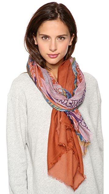 Twelfth St. by Cynthia Vincent Carey Horizontal Stripe Scarf