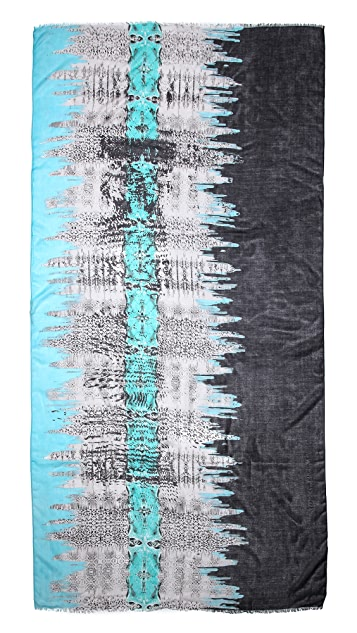 Twelfth St. by Cynthia Vincent Carey Animal Geode Scarf