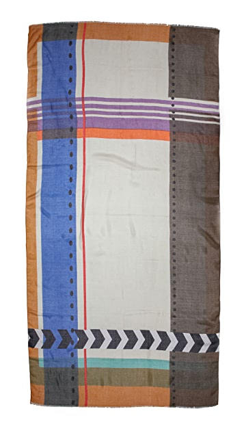 Twelfth St. by Cynthia Vincent We Shall See Horizontal Stripe Scarf