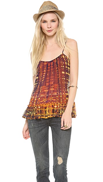 Twelfth St. by Cynthia Vincent Ruffle Camisole