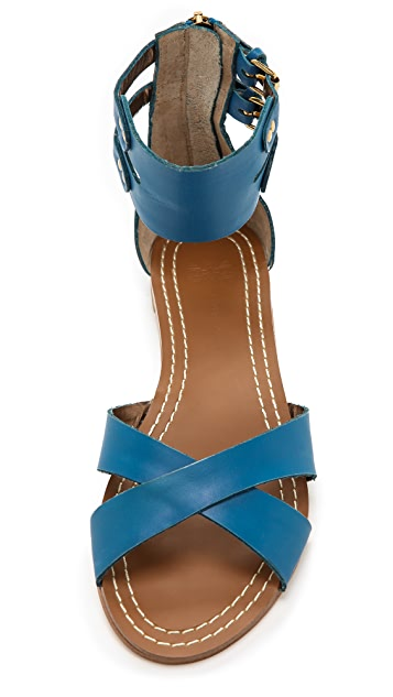 Twelfth St. by Cynthia Vincent Laura Ankle Strap Sandals