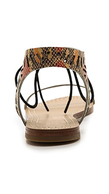 Twelfth St. by Cynthia Vincent Paige Flat Sandals