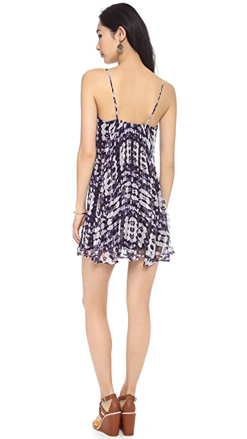 Twelfth St. by Cynthia Vincent Embroidered Swing Dress