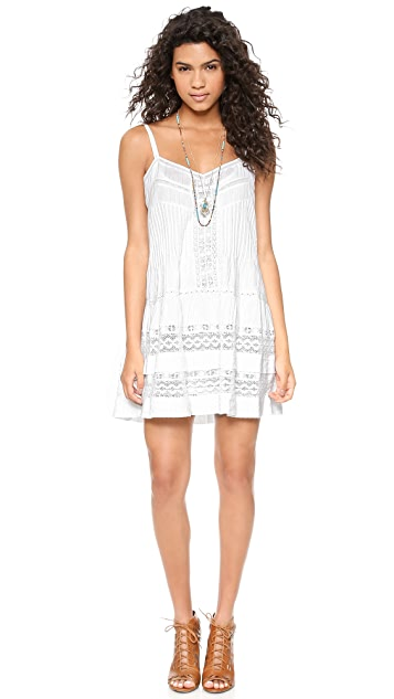 Twelfth St. by Cynthia Vincent Mini Western Lace Dress