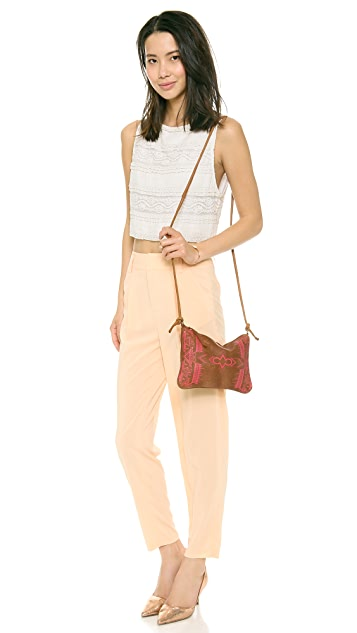 Twelfth St. by Cynthia Vincent Coachella Tobacco Cross Body Bag