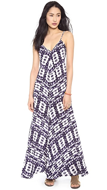 Twelfth St. by Cynthia Vincent Braided Strap Maxi Dress