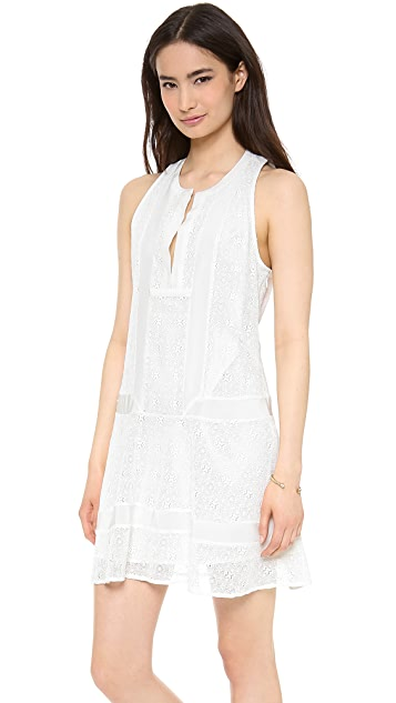 Twelfth St. by Cynthia Vincent Sleeveless Inset Dress
