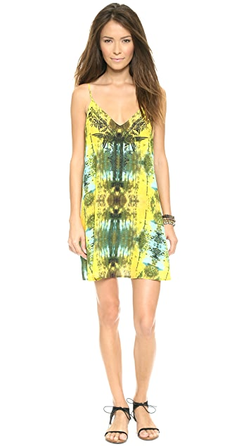 Twelfth St. by Cynthia Vincent Embroidered Mini Dress