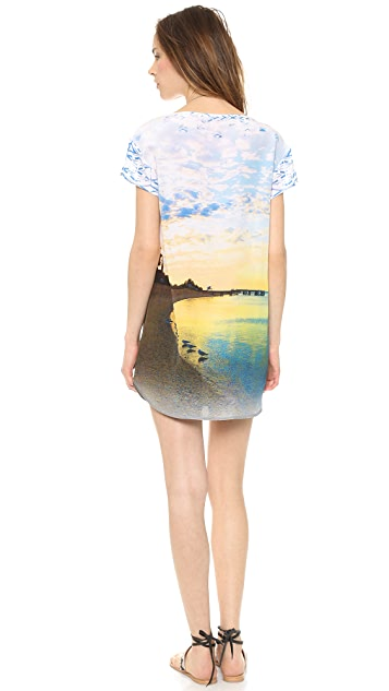 Twelfth St. by Cynthia Vincent Short Sleeve Shift Dress