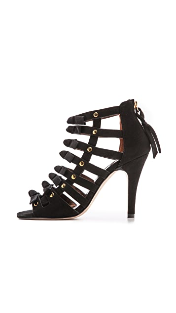 Twelfth St. by Cynthia Vincent Sadie Cutout Sandals