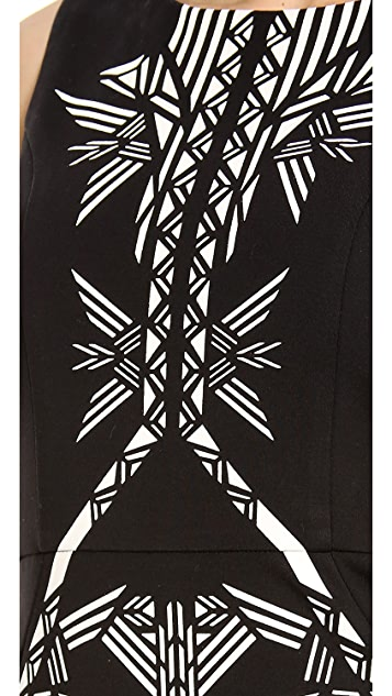 Twelfth St. by Cynthia Vincent Tribal Sheath Dress