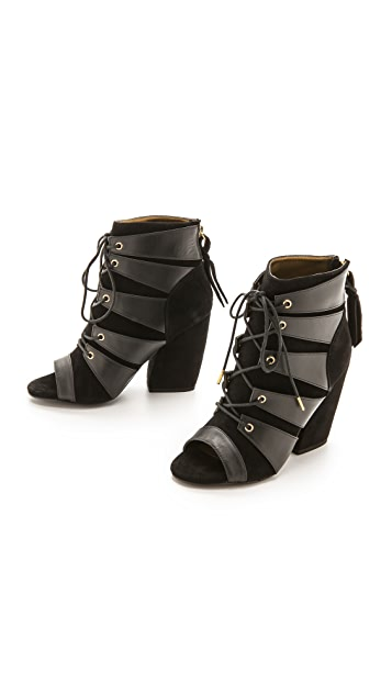 Twelfth St. by Cynthia Vincent Dakota Open Toe Booties