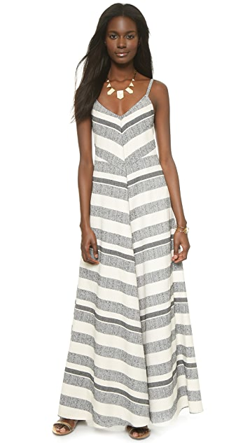 Twelfth St. by Cynthia Vincent Mitered Maxi Dress