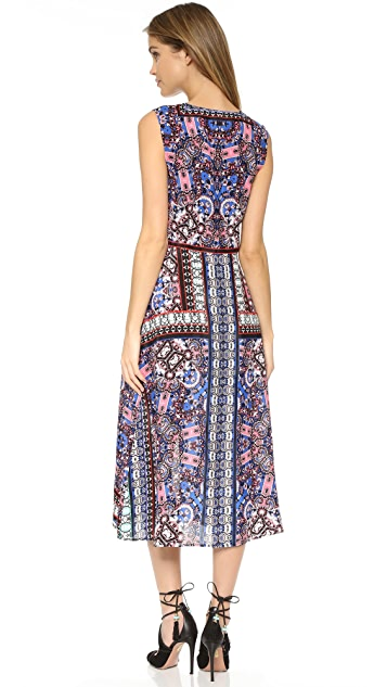Twelfth St. by Cynthia Vincent Mirrored Dress