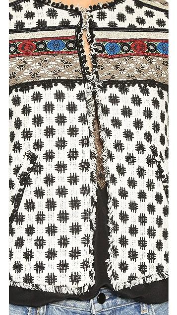Twelfth St. by Cynthia Vincent Embellished Jacket