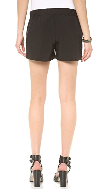 The West is Dead Lightweight Pleated Shorts