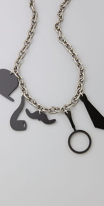 Twinkle Sherlock Holmes Necklace