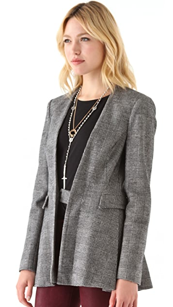 Twenty8Twelve Austin Plaid Blazer
