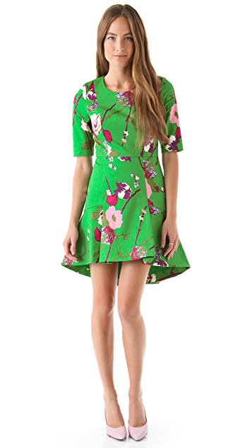 Twenty8Twelve Casey Capote Print Dress