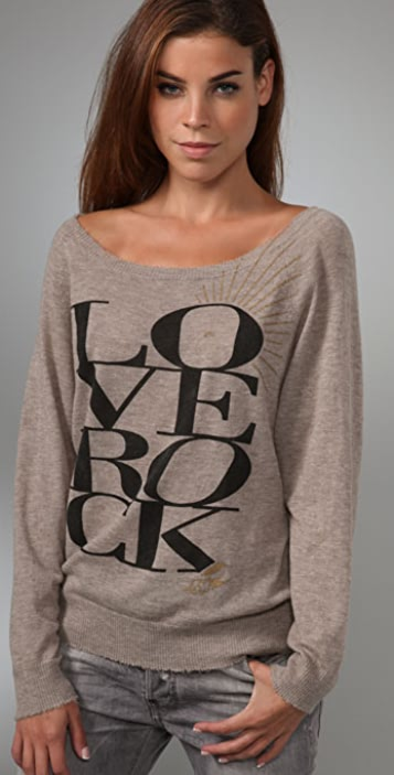 291 Love Rock Cashmere Sweater