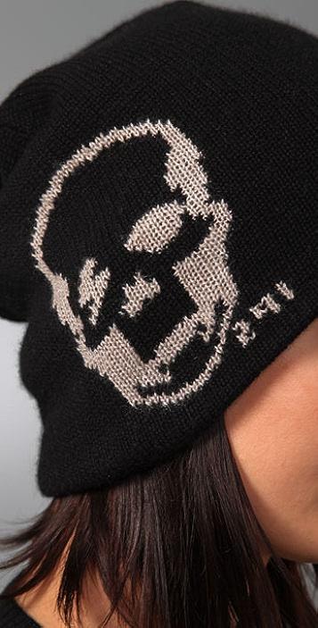 291 Skull Cashmere Beanie
