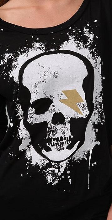 291 Skull Spray Tee