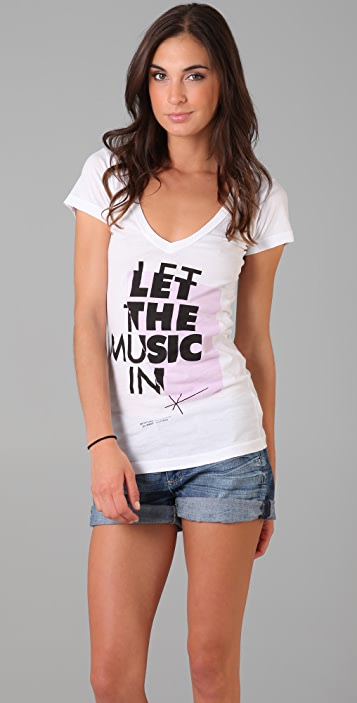 291 Let the Music In Tee