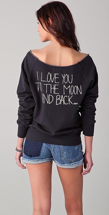 291 To The Moon And Back Sweatshirt