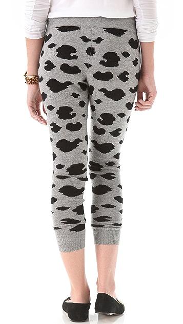 291 Cheetah Cashmere Lounge Pants