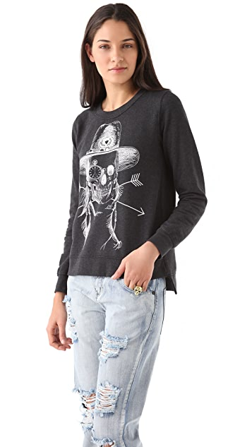 291 Native Skull Sweatshirt