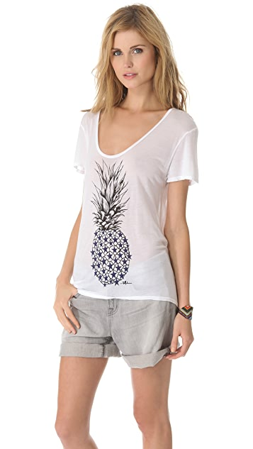 291 Pineapple Short Sleeve Tee