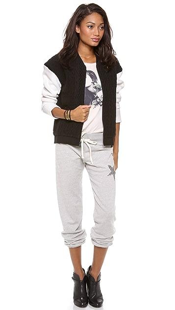 291 Stud Star Baggy Pants
