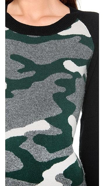 291 Camo Cashmere Pullover