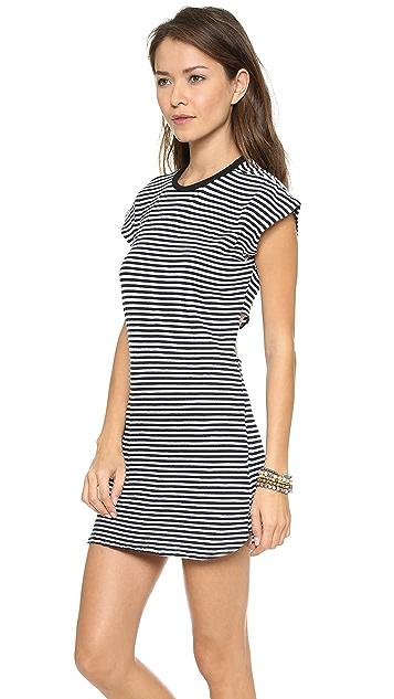 291 Back Knot Mini Dress
