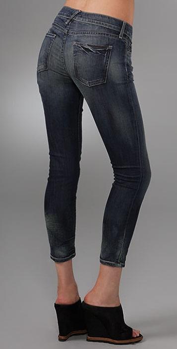 TEXTILE Elizabeth and James Deb Cropped Skinny Jeans