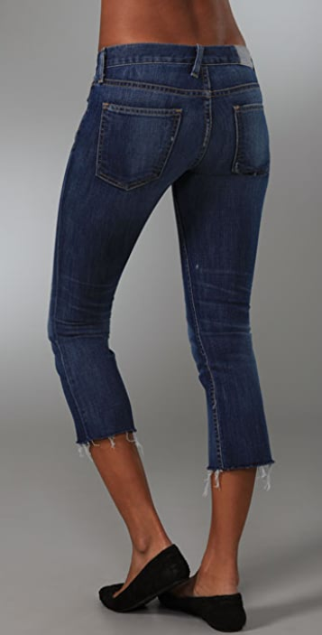 TEXTILE Elizabeth and James Joni Cropped Flare Jeans