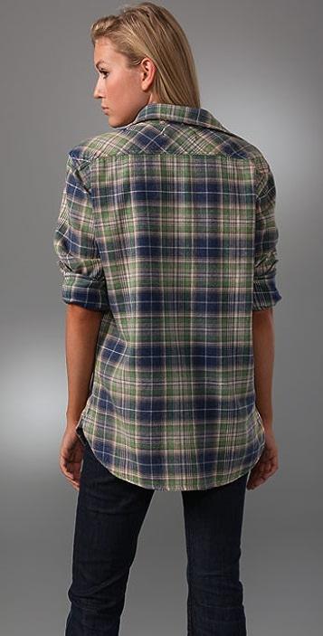 TEXTILE Elizabeth and James Blake Plaid Shirt