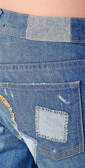 TEXTILE Elizabeth and James I Heart Jeans