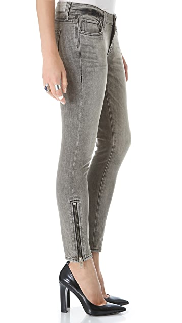 TEXTILE Elizabeth and James Davis Zip Skinny Jeans