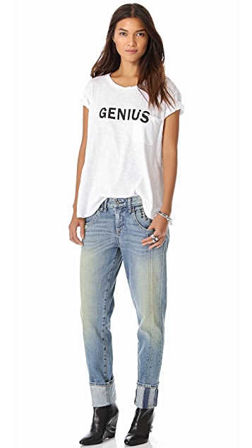 TEXTILE Elizabeth and James Genius Bowery Tee