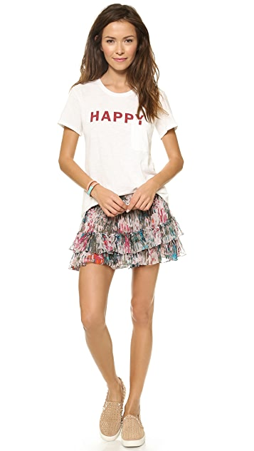 TEXTILE Elizabeth and James Happy Bowery Tee