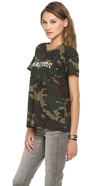 TEXTILE Elizabeth and James Warrior Bowery Tee